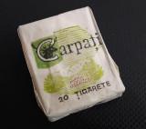pachet vechi de tigari Carpati cu filtru (nu contine tigari)