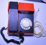 un telefon romanesc cu disc anii din 70 foarte rar de colectie model mai rar