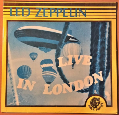 Disc Vinil LP - Led Zeppelin - Live in London 1969 - Electrecord - vinyl foto