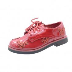 Pantofi eleganti fetite MRS R2006R, Rosu