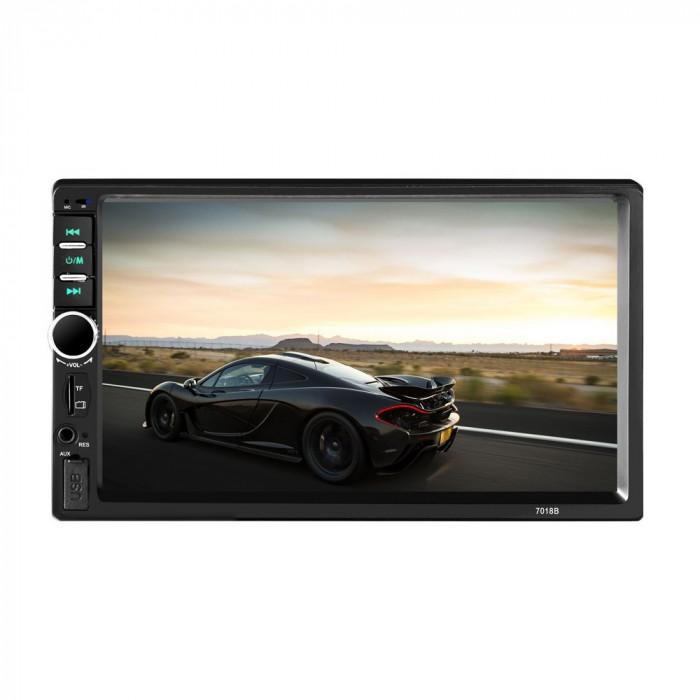 Mp5 Player casetofon auto MirrorLink Bluetooth 7inch 7018B Garantie 2 ani