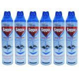 Cumpara ieftin 6 x Baygon, insecticid spray universal, muste si tantari, 6 x 400ml