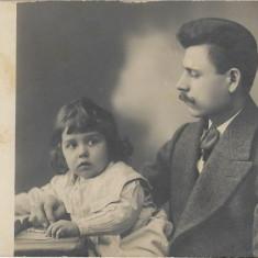 Fotografie portret studio Oppelt Bucuresti poza veche romaneasca