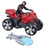 Hasbro Spiderman Figure Car Blast And Go Kid Arachnid