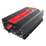 Invertor cu display 12V-220V, USB, putere 2000 W
