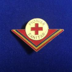 Insignă pionieri - Pionier sanitar - variantă mare