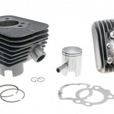 Kit Cilindru Set Motor + Chiuloasa Scuter Moped Piaggio Si 49cc 38.2 - bolt 10mm