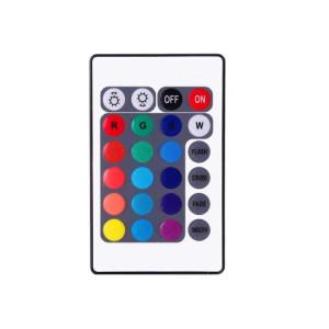 Kit 4 Benzi LED RGB Multicolor pentru Iluminat Interior Auto cu Telecomanda, Alimentare la Bricheta 12V