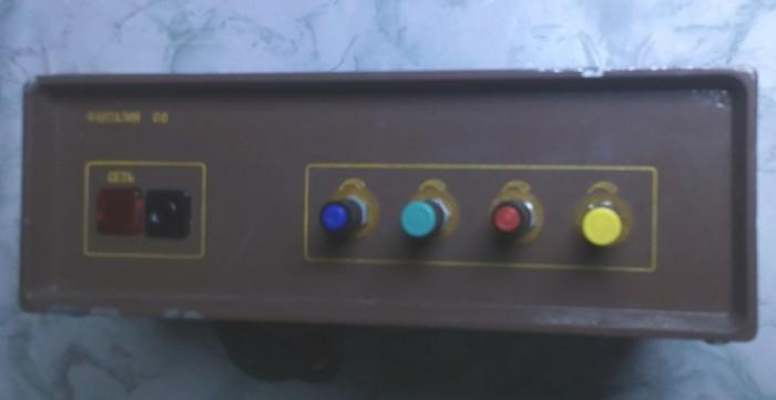 veche de colectie joc de lumini orga ruseasca netestata