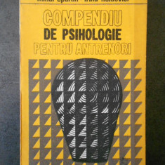 MIHAI EPURAN - COMPENDIU DE PSIHOLOGIE PENTRU ANTRENORI