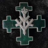 Insigna regiment de 7 ani - Batalionul 1 Vanatori de Munte Carol II - Sinaia