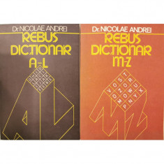 Rebus-dictionar (Vol. 1 + 2) - Dr. Nicolae Andrei