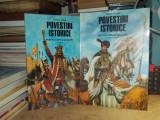 DUMITRU ALMAS - POVESTIRI ISTORICE ( 2 VOL ) , ILUSTRATII VALENTIN TANASE , 2003