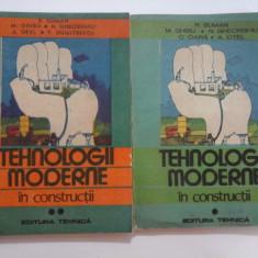 TEHNOLOGII MODERNE IN CONSTRUCTII (2 Volume) - Suman / Ghibu...