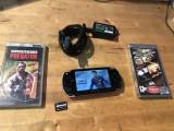 CONSOLA SONY PSP-1004 + CARD + 3 JOCURI FIFA14 NSF PREDATROR + INCARCATOR SONY