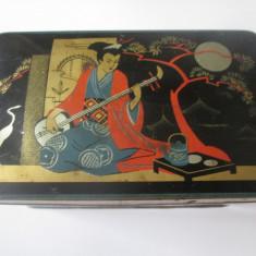Cutie tabla pentru ceai japonez din anii 30