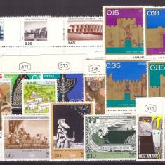 Israel - Lot timbre neuzate