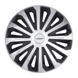 """Set 4 bucati capace roti 15"""" Cosmo silver black Michelin pmich15006"""