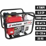 Cumpara ieftin Motopompa benzina Elefant WP30X, 6.5 CP, 30 mc h , 4 timpi, 2 , max 28 metri