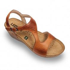 Sandale Leon 1050 maro – dama