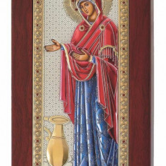 Icoana Argintata Sporul Casei, Color, 6x12cm,Cod Produs:791