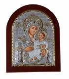 Maica Domnului de la Betleem pe Foita Argint 925 Auriu 190x156mm Cod Produs 1400