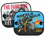 Parasolare Rebels Star Wars 36x44x0,2 cm , set 2 buc. Kft Auto