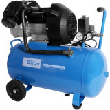 Cumpara ieftin Compresor cu ulei cu doi cilindri 401 10 50 Guede GUDE50108, 2200 W, 50 L, 10 bari