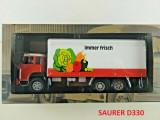 Macheta camion SAURER D330 1/43