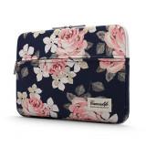 Cumpara ieftin Husa Upzz Tech Briefcase Canvaslife Sleeve Compatibila Cu Laptop / Macbook 15-16 Inch Rose