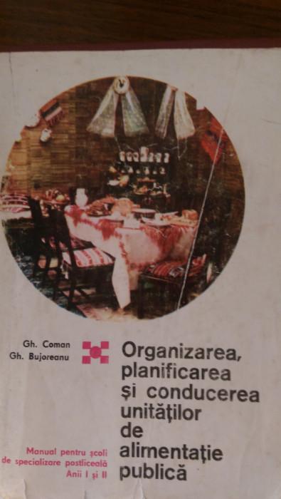 Organizarea planificarea si conducerea unitatilor de alimentatie publica Coman