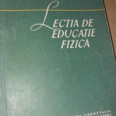 LECTIA DE  EDUCATIE FIZICA EMIL GHIBU