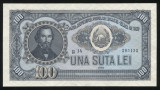 Y608 ROMANIA 100 LEI 1952 serie albastra UNC NECIRCULATA