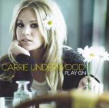 CD Country: Carrie Underwood - Play On (2009, original, stare foarte buna )