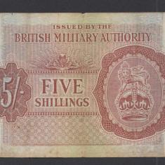 A1793 Anglia UK 5 shillings 1943