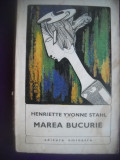 HOPCT  MAREA BUCURIE / HENRIETTE YVONE STAHL - 1970 -318   PAGINI