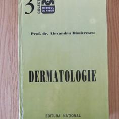DERMATOLOGIE- ALEXANDRU DIMITRESCU, cartonata