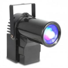 Beamz PS10W, reflector de lumină, 10W, 4-în 1, LED, RGBW, DMX