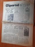 Sportul 13 august 1981-rapid si petrolul  obiectiv promovarea in divizia a