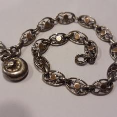 BRATARA argint FRANTA art nouveau 1900 rara SPLENDIDA delicata FINUTA de efect