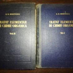 Tratat elementar de chimie organica- C. D. Nenitescu
