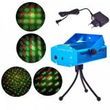 Laser Proiector Jocuri de Lumini Rosu Verde YXA5