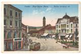 SV *   ORADEA  *  Bihor  *  PIATA REGINA MARIA  *  1927  *  tramvai  *  animata