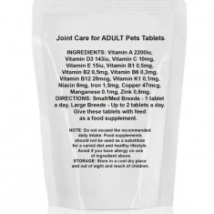 Vitamine Joint Care pentru animale de companie adulte, 60 tablete, Gonga