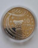 Moneda de argint 925 - 10 Euro Spania, 2010, Europa