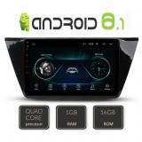 Navigatie dedicata VW Tiguan 2016- A-5883 cu Android Radio Bluetooth Internet 1+16GB CarStore Technology