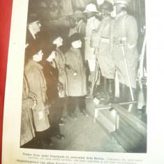 Fotografie ww2 tiparita -Expozitie Propaganda la Berlin -Uniforme capturate ,dim