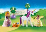Playmobil Princess – Set portabil cu prințese și unicorn