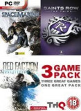 THQ GAME PACK: RED FACTION, SPACE MARINE,SAINTS ROW 3 PC, Shooting, 18+, Single player