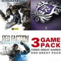 THQ GAME PACK: RED FACTION, SPACE MARINE,SAINTS ROW 3 PC